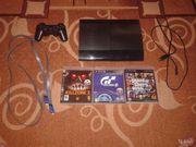 Продам PS3 + GTA V и многие другие игры 500 GB